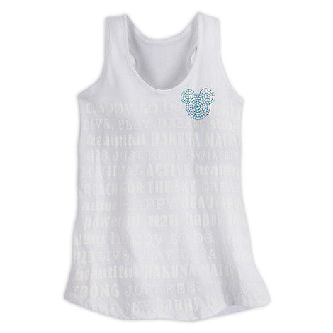 Mickey Mouse Mosaic Tank Tee for Women