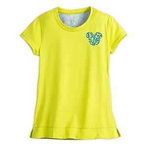 Mickey Mouse Mosaic Performance Tee for Women