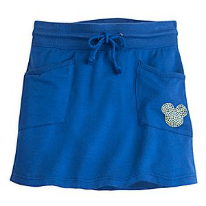 Mickey Mouse Mosaic Sport Skirt for Women