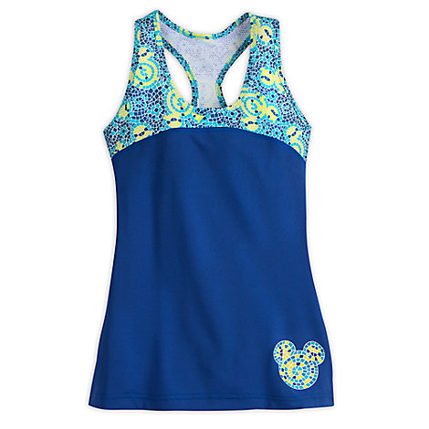 Mickey Mouse Mosaic Performance Tank Top for Women