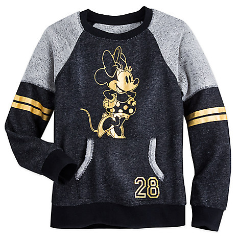 Minnie Mouse Raglan Pullover Sweater for Women