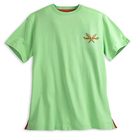 Aulani, A Disney Resort & Spa Tee for Adults - Lime
