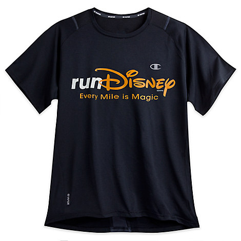 runDisney Performance Tee for Adults by Champion® - Black