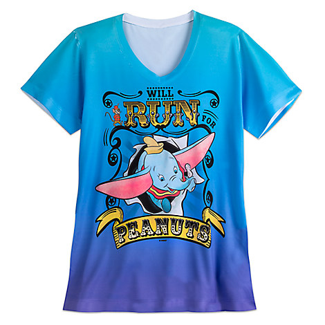Dumbo runDisney Performance Tee for Women