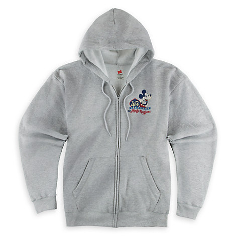 Mickey Mouse Magic Kingdom 45th Anniversary Hoodie for Adults - Walt Disney World