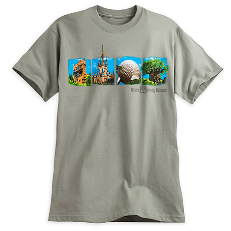 Walt Disney World Four Parks Tee for Adults