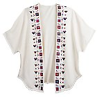 Mickey and Minnie Mouse Poncho for Women