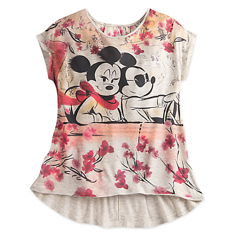 Mickey and Minnie Mouse Dolman Fashion Top - Disney Boutique