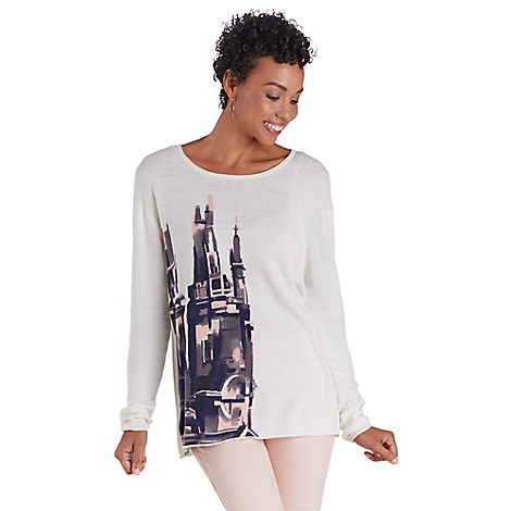 Fantasyland Castle Sweater for Women - Kingdom Couture