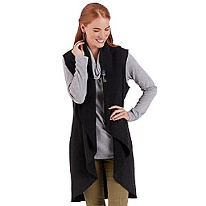 Fantasyland Castle Long Vest for Women - Kingdom Couture Collection