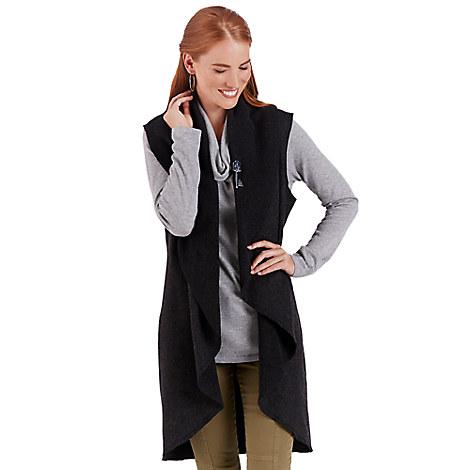 Fantasyland Castle Long Vest for Women - Kingdom Couture Collection