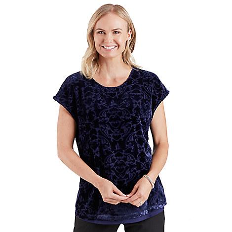 Kingdom Couture Velvet Sleeveless Top for Women