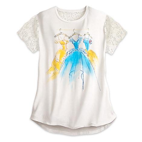 Disney Princess Lace Fashion Top for Women by Disney Boutique