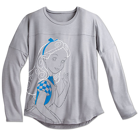 Alice Long Sleeve Fashion Tee for Women by Disney Boutique