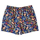 Magic Kingdom 45th Anniversary Boxer Shorts for Men - Walt Disney World