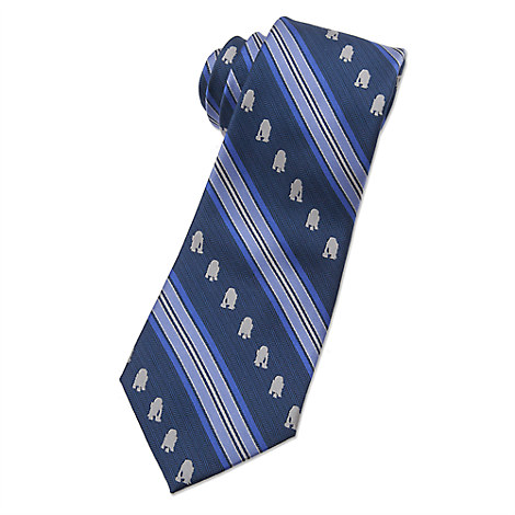 R2-D2 Tie for Adults - Star Wars - Striped