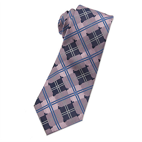 Mickey Mouse Icon Tie for Men - Plaid