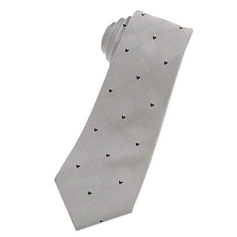Mickey Mouse Icon Tie for Men - Silver