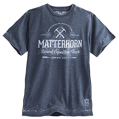 Matterhorn Burnout Tee for Men - Twenty Eight & Main Collection