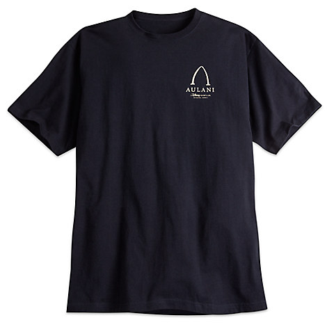 Aulani, A Disney Resort & Spa Logo Tee for Adults by Crazy Shirts - Black