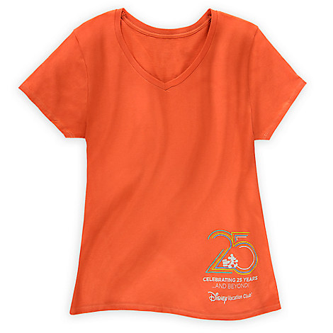 Disney Vacation Club Tee for Women - 25th Anniversary