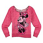 Minnie Mouse Scoop Neck Top for Women - Pink