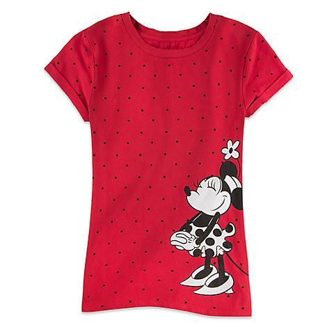 Minnie Mouse Polka Dot Tee for Women