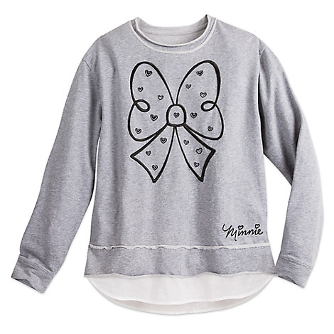 Minnie Mouse Bow Fashion Sweatshirt for Women