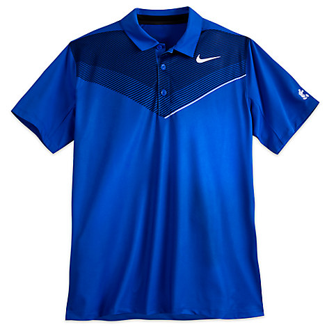 Mickey Mouse Polo Shirt for Men by NikeGolf - Blue