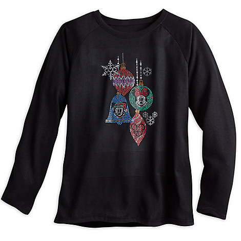 Mickey and Minnie Mouse Holiday Fashion Pullover for Women