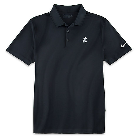 Mickey Mouse Polo Shirt for Men by NikeGolf - Black