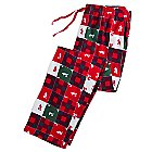 Mickey Mouse Patchwork Lounge Pants for Men