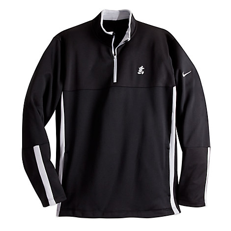 Mickey Mouse Therma-Fit Pullover for Men by Nike Golf - Black