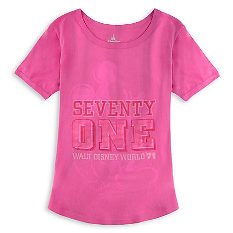 Mickey Mouse ''Seventy One'' Tee for Women - Walt Disney World
