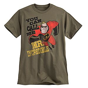 Mr. Incredible Tee for Adults - The Incredibles