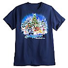 Santa Mickey Mouse and Friends Holiday Tee for Adults - Walt Disney World