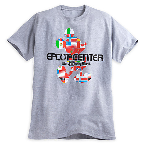 Epcot Center Flags Tee for Men - Walt Disney World