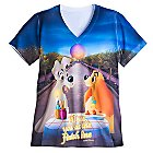 Lady and the Tramp runDisney Performance Tee for Women - Epcot