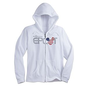 Mickey Mouse Epcot Hoodie for Women