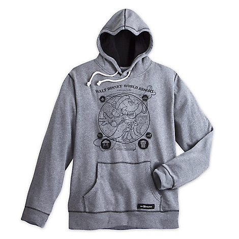 Sorcerer Mickey Mouse Pullover Hoodie for Men - Walt Disney World 2017