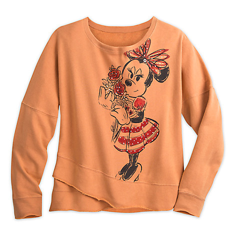 Minnie Mouse Long Sleeve Crossbody Top for Women by Disney Boutique