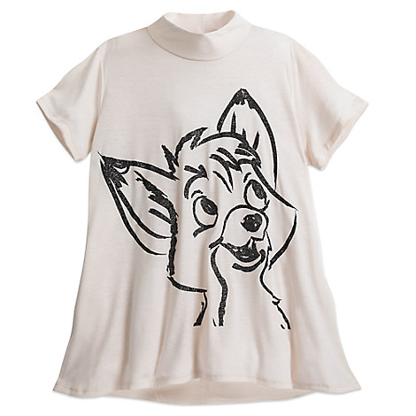 The Fox and the Hound Top for Women by Disney Boutique