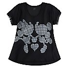 Mickey and Minnie Mouse Top for Women by Disney Boutique
