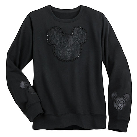 Mickey Mouse Lace Sweater for Women by Disney Boutique