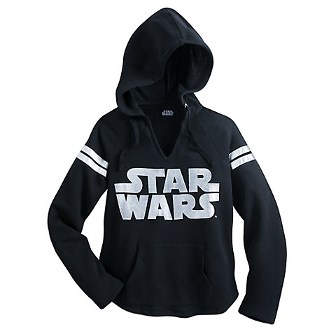star wars logo pullover hoodie for women disney store