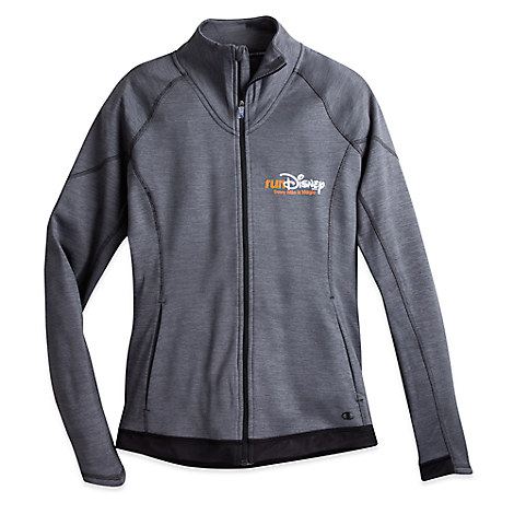 runDisney Duofold Performance Zip Jacket for Women by Champion®