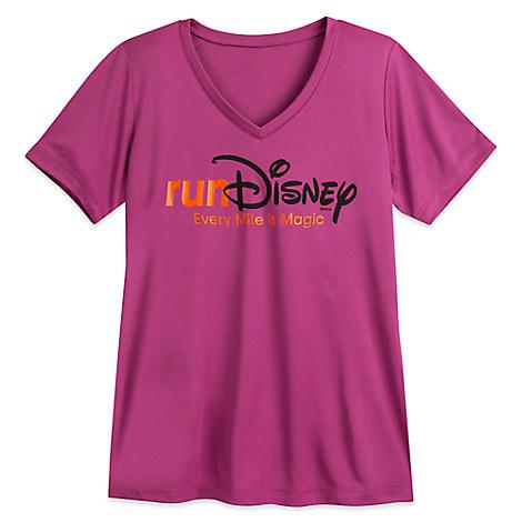 runDisney V-Neck Tee for Women