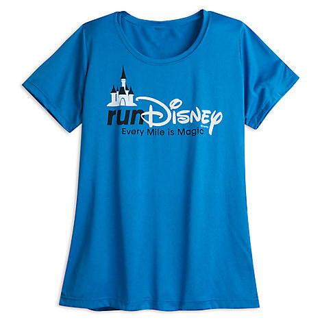 runDisney Performance Tee for Women - Blue