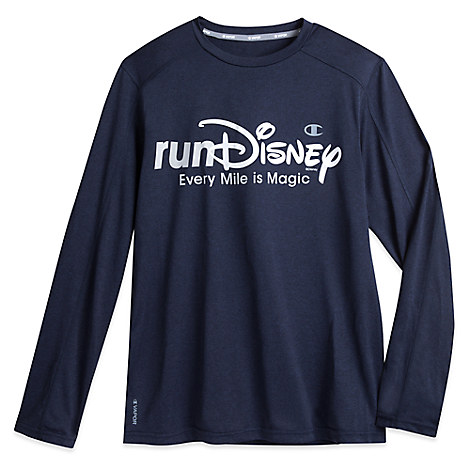runDisney Vapor® Performance Long Sleeve Tee for Men by Champion®