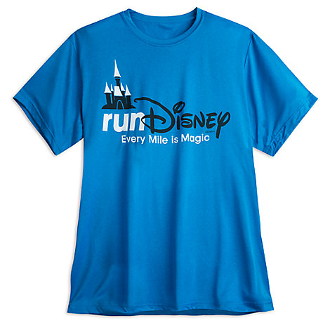 runDisney Performance Tee for Men - Blue